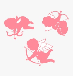 Cupid simple vector image vector image