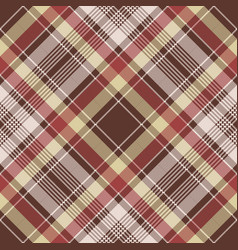 Red pixel fabric texture plaid seamless pattern vector