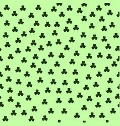 Shamrock pattern seamless vector