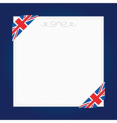 uk frame vector image