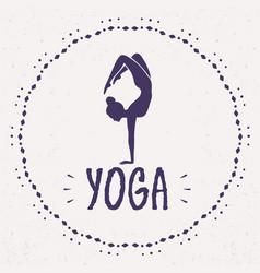 Yoga asana vector