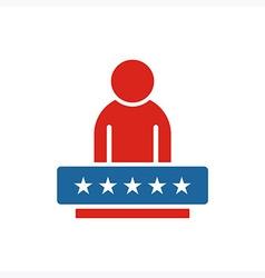 America People USA logo icon vector image vector image