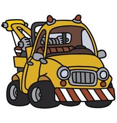 Breakdown service vehicle vector image vector image