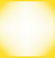 Geometrical halftone dot pattern background - vector