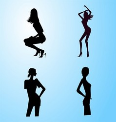 Woman sexy dance Free vector image