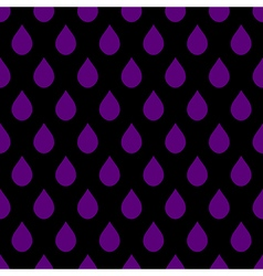 Purple black water drops background vector