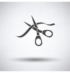 Ceremony ribbon cut vector