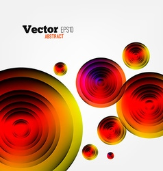 Circular abstract geometric background vector