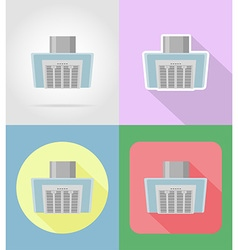 Household appliances for kitchen 12 vector