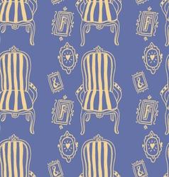 Stay Fancy seamless pattern vector image
