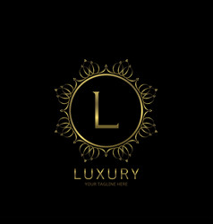 luxury quality label vector image