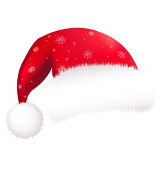 Santa Clause Hat vector image