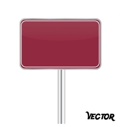 Board sign vector image
