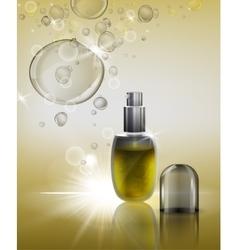 Cosmetic flacon image vector