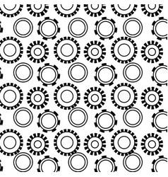 Figure industry gears engineering process vector