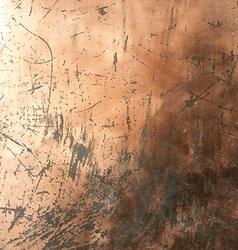 Copper Grunge Background vector image