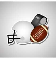 American football icon design vector