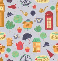 London pattern vector