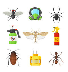 pest control set vector image