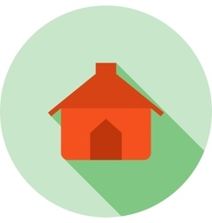 Pet house vector