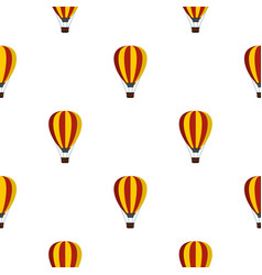 Balloon pattern flat vector