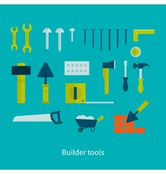 Flat icon tools vector