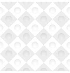 Gray simple grid with round holes vector image vector image