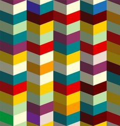 Zig zag 3d colorful vector