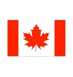 The canadian flag patriotism vector