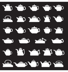 Pot And Kettle Collection vector image