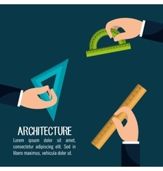 Instruments architecture design vector