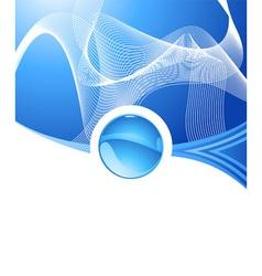Abstract aqua concept vector