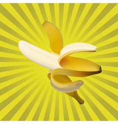 Ripe banana vector