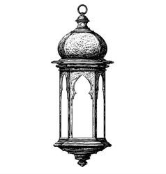 ramadan lantern vector image