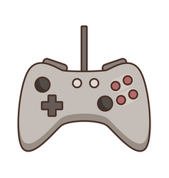 console gamepad console vector image vector image