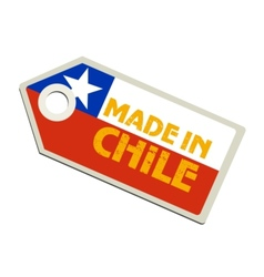 Made in Chile vector image vector image