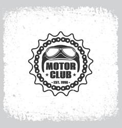 Motor club vector