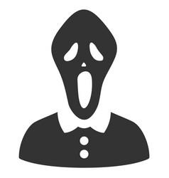 Horror icon vector
