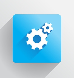 Cogs icon vector