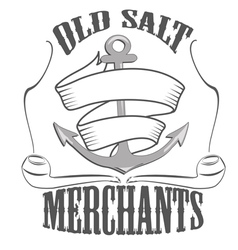 Old salt merchants logos and pictures vector
