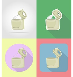 Household appliances for kitchen 13 vector