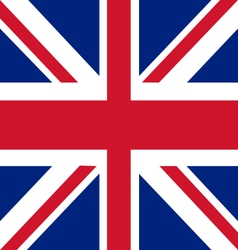 Union jack the united kingdom flag vector
