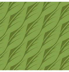 Abstract seamless pattern of leaves vector image vector image