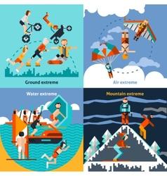 Extreme Sports Set vector image