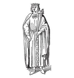 King richard i vintage vector
