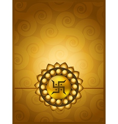 Rakhi background vector
