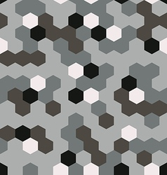 Seamless pattern in camouflage style vector
