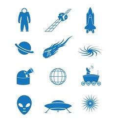 Astronautics vector image
