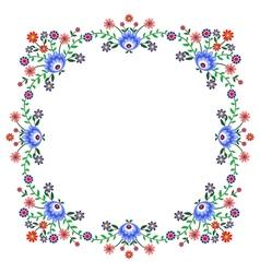 Folk pattern flowers-a vector