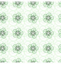 seamlee green pattern vector image